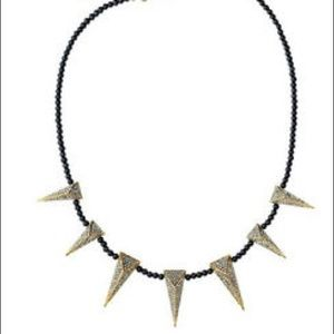 NWT Juicy Couture Pave Spike Necklace